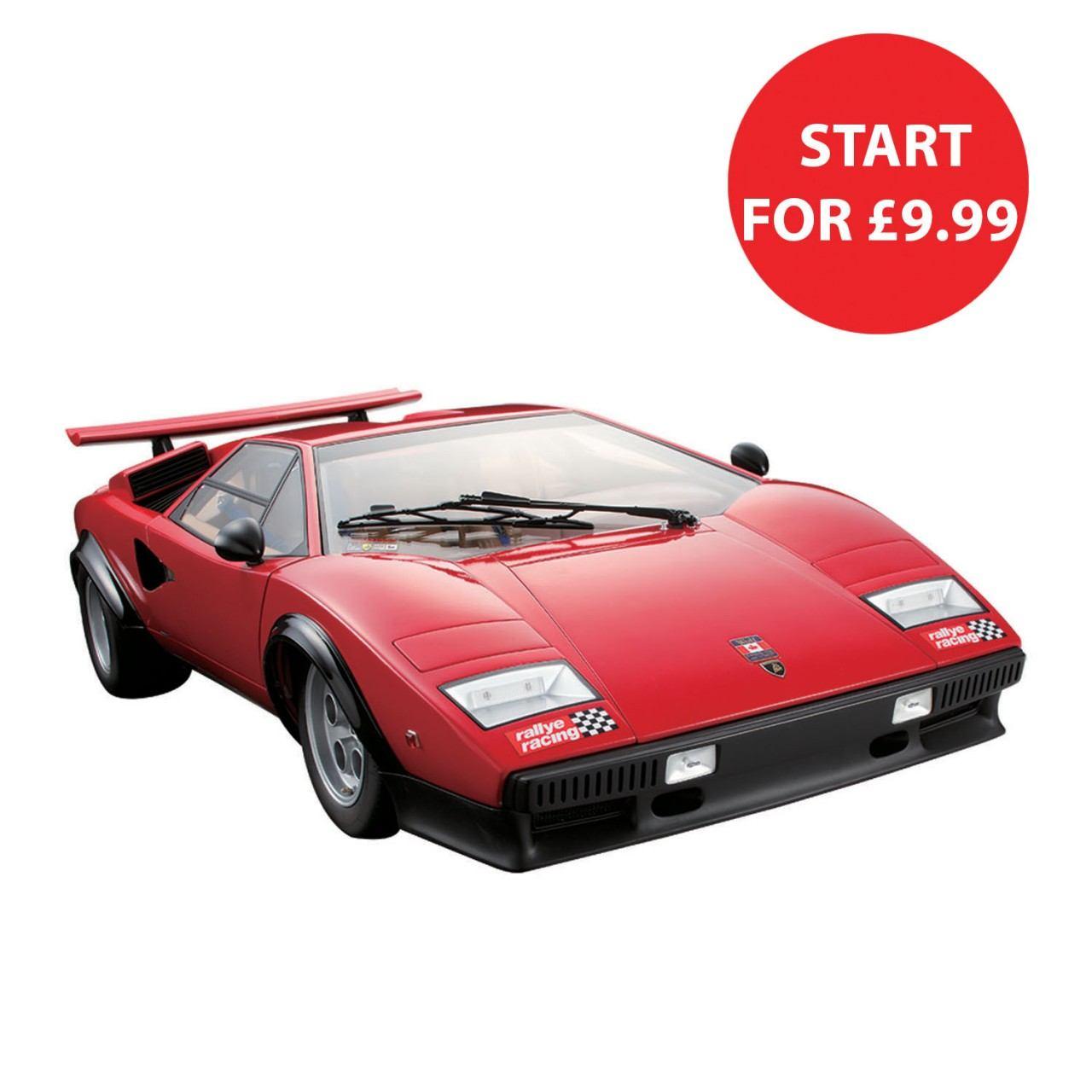 Build The Lamborghini Countach LP 500S   1:8 Scale Model