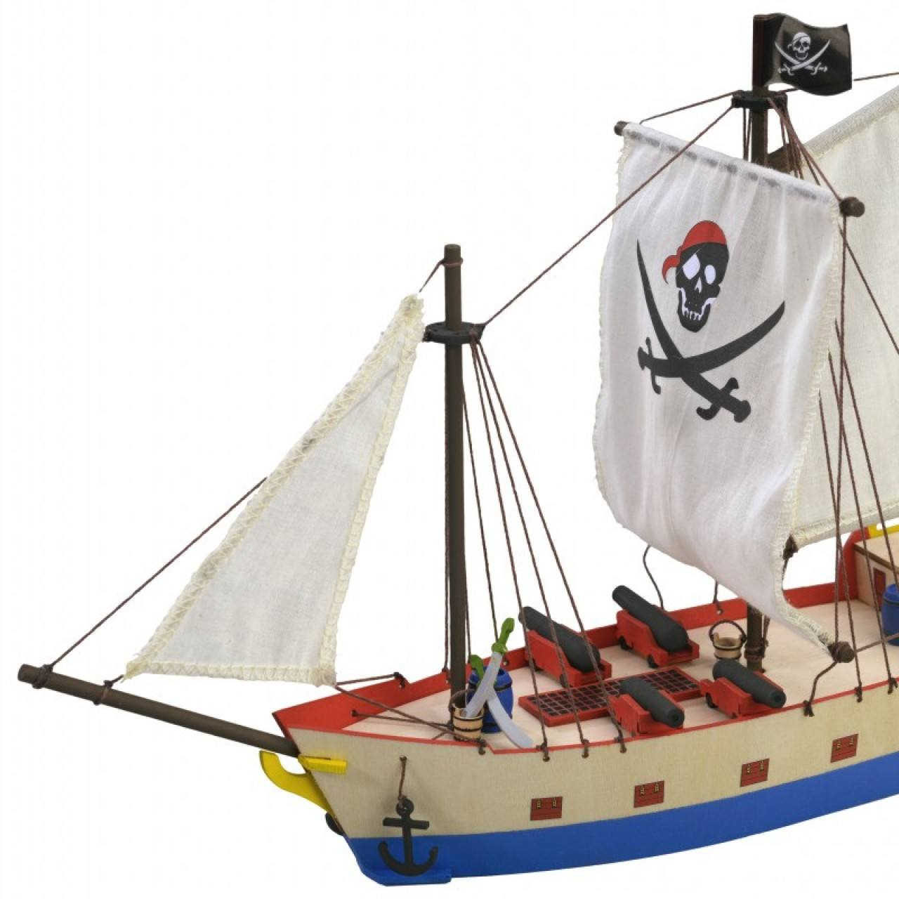 Pirate Ship | Kids Model | Full Kit | ModelSpace