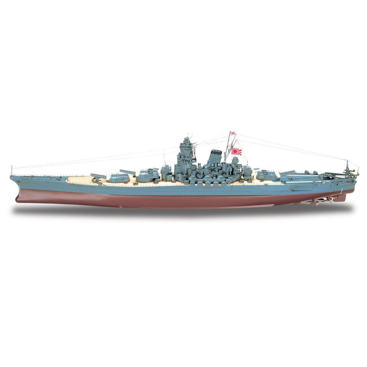 yamato battleship model modelspace