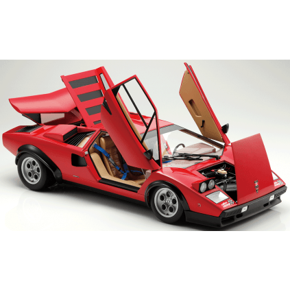 Lamborghini Countach LP 500S - Movable parts, including the Countach's iconic scissor doors.