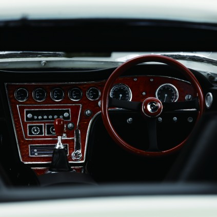 Accurate reproduction of the car's luxurious interior