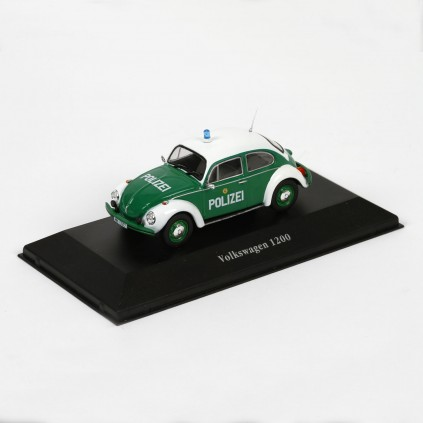 Classic European Police Cars Set