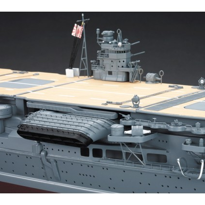 Build IJN Akagi - the funnel, made from three main castings and etched brass pieces