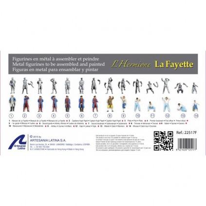 Metal Figurines | Hermione La Fayette
