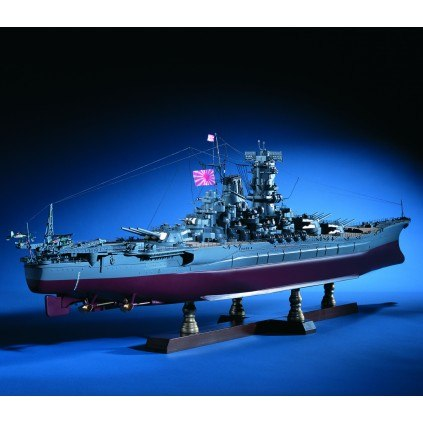 Build the Battleship Yamato - Length: 1052mm | Height: 289mm | Beam: 150mm