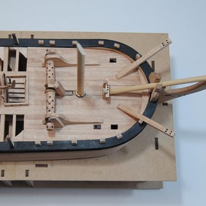 HMS Bounty Admiralty Ship | 1:48 Model