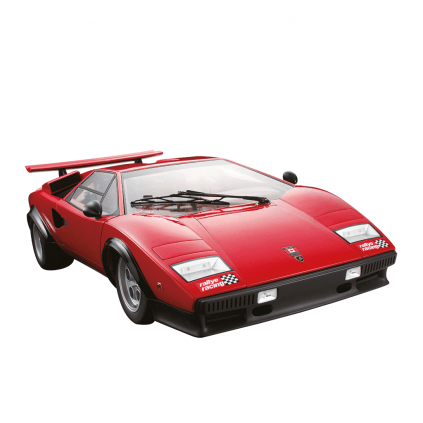 Build the Lamborghini Countach LP 500S