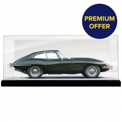 Jaguar E-Type | 1:8 Scale | Premium Offer | Display Case
