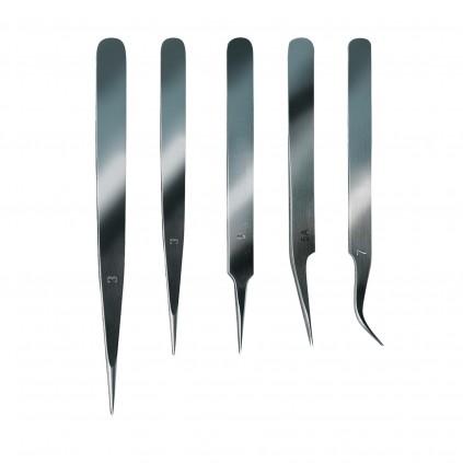 Set of Fine Tweezers | Tools