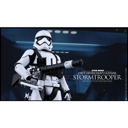 First Order Heavy Gunner Stormtrooper | 1:6 Scale
