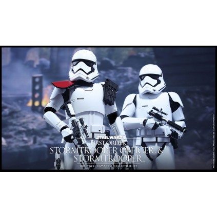 First Order Stormtrooper Officer and Stormtrooper Twin Set | 1:6 Scale