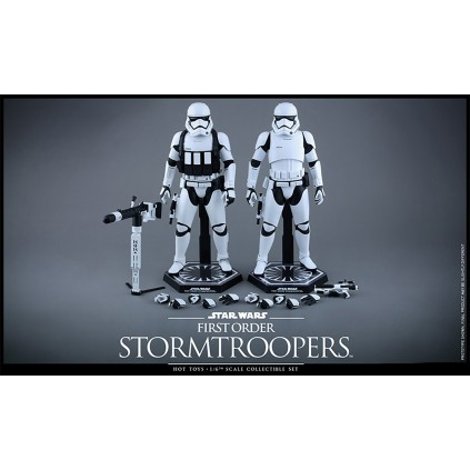 First Order Stormtrooper Twin Pack | 1:6 Scale