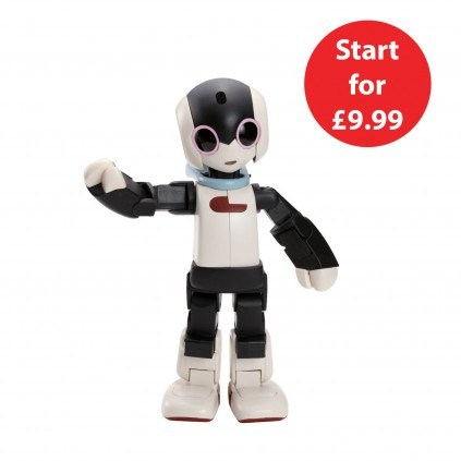 Start for £9.99 to build Robi