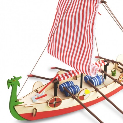 Viking Ship | Kids Collection | Full Kit