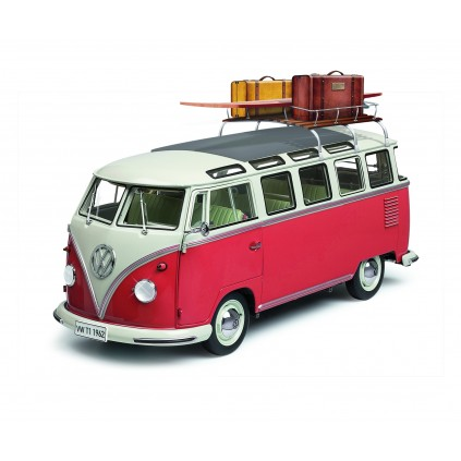 Build the VW T1 Samba Camper Van Model