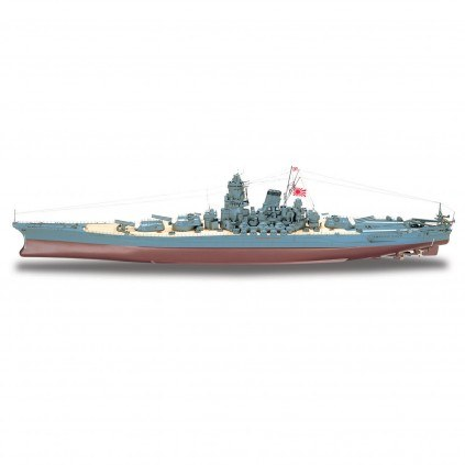 Build The Battleship Yamato 1:250