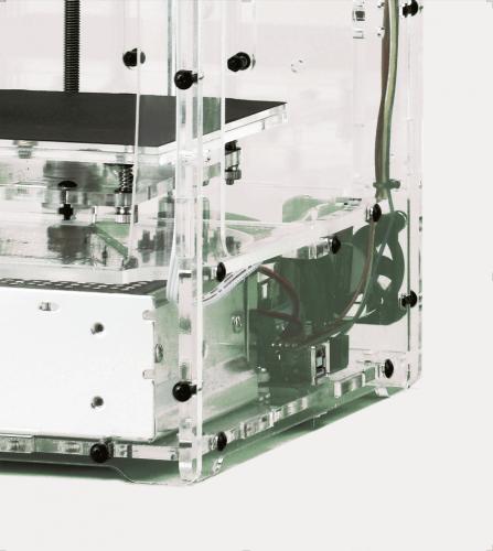 Close up - 3D printer - Bottom