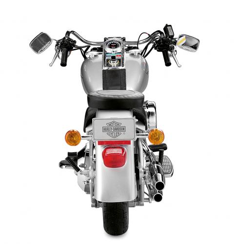 Harley-Davidson Fat Boy - The Rear View