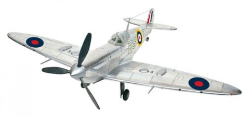 1:12 scale model Spitfire