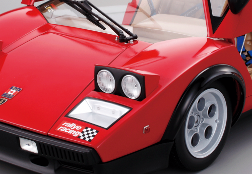Lamborghini Countach LP 500S - Equipped with working lights and realistic sound effects