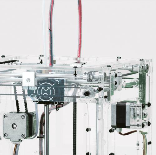 Close up - 3D printer - Top