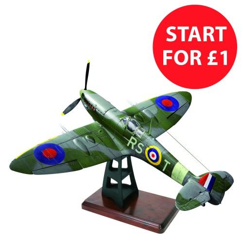 Build the Spitfire - £1 promotion