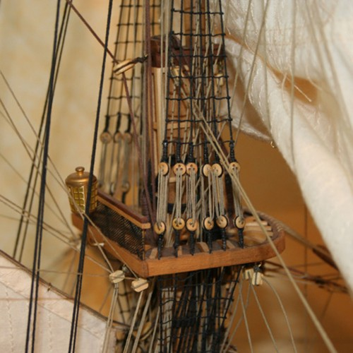 Build HMS Surprise - High-quality planking mahogany, walnut and lime woods.