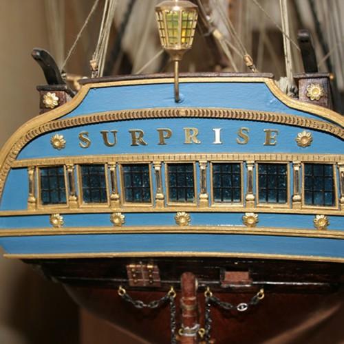 Build HMS Surprise - High quality parts
