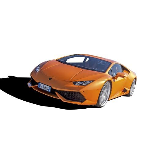 Build and Drive the Lamborghini Huracán 1:10 Model - Length: 390mm - Width: 200mm - Engine: Nitro, 3cc