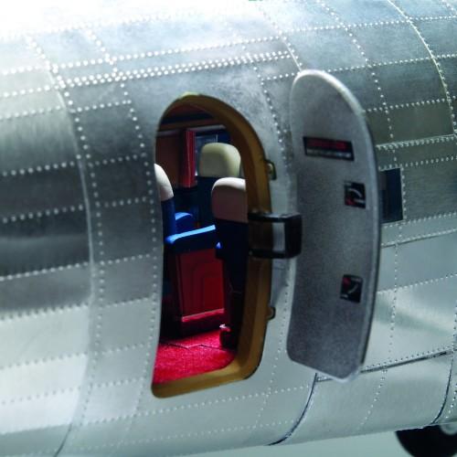 Build The Douglas DC-3 Model - Passenger cabin open