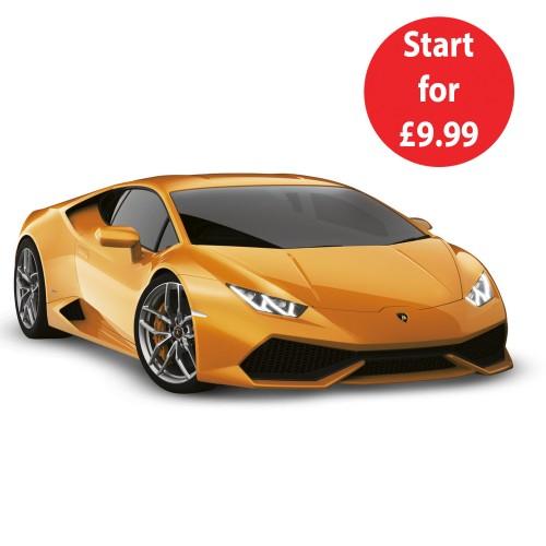 Build and Drive the Lamborghini Huracán 1:10 Model