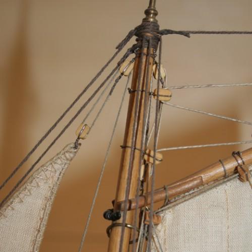 Virginia Schooner scale model