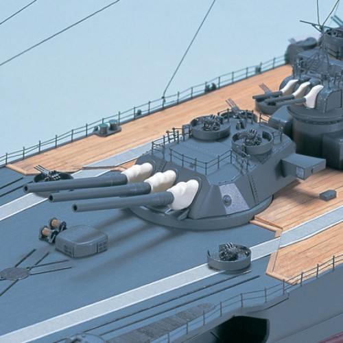 Build the Battleship Yamato - Cast metal gun turrets