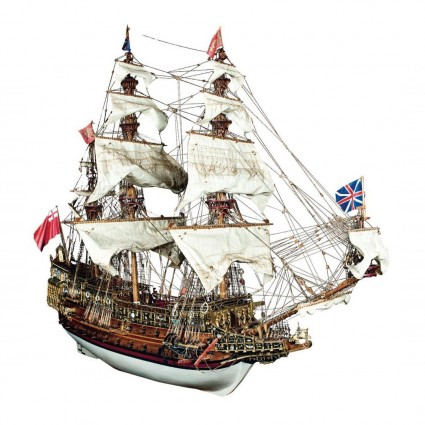 Build the Sovereign of the Seas - 1:84 Scale Model