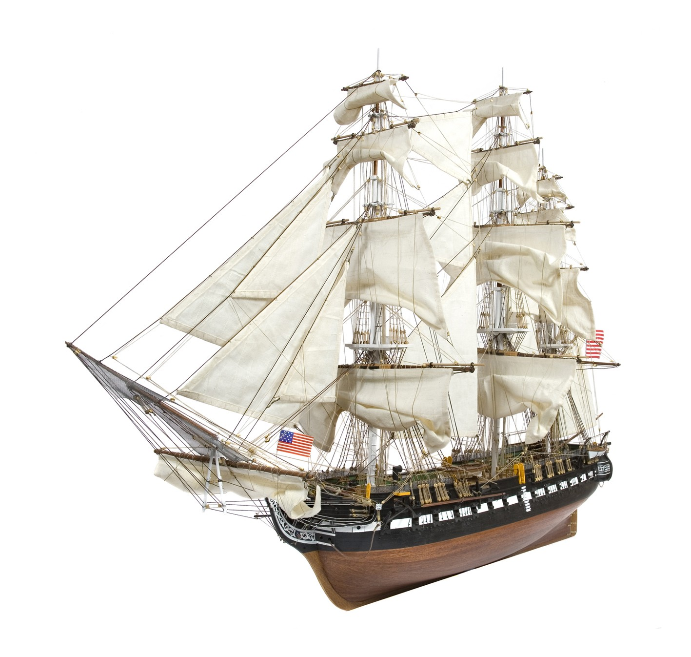 1:76 Scale Model Ship