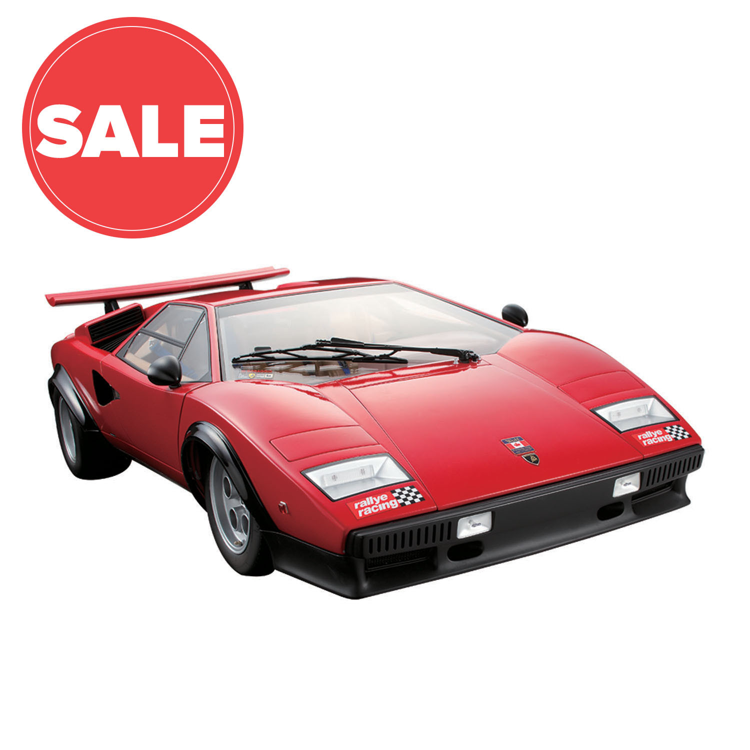 Lamborghini Sales: Lamborghini Countach LP 500S Model Car