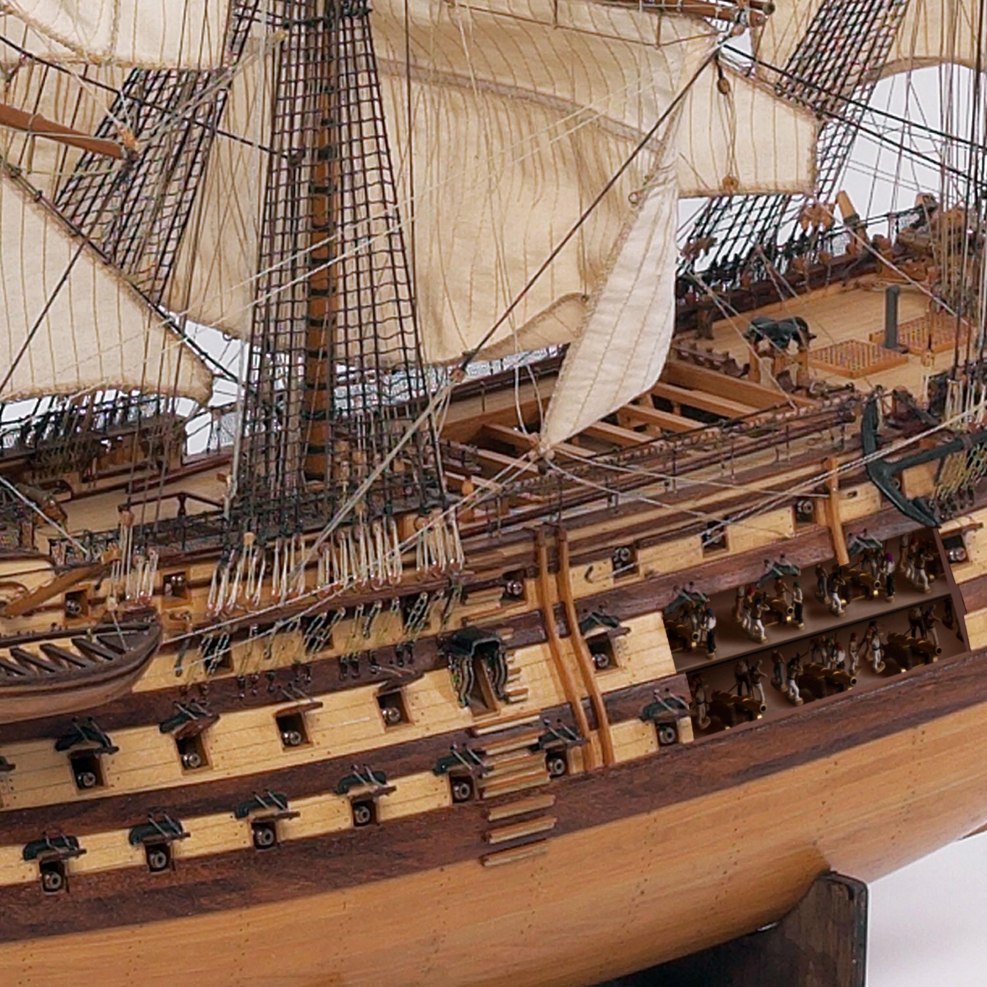 hms victory model sailing ship 1 84 scale kit