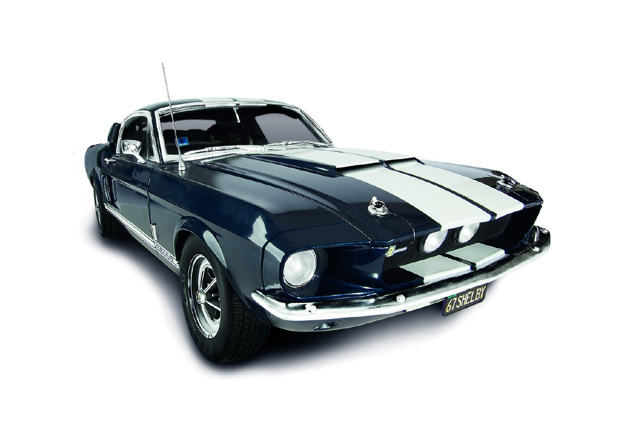 Build Your Own Mustang >> Ford Mustang Shelby GT 500 Model Car Kit | ModelSpace