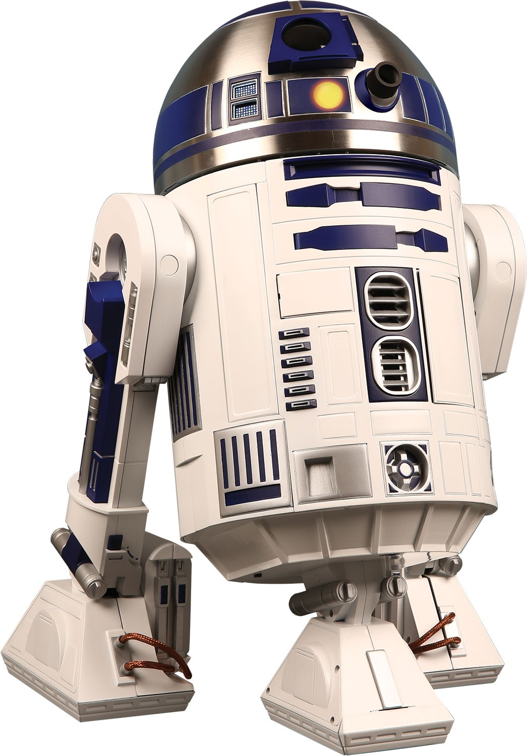 Build r2 d2 star wars 1 2 scale model modelspace - Robot blanc star wars ...
