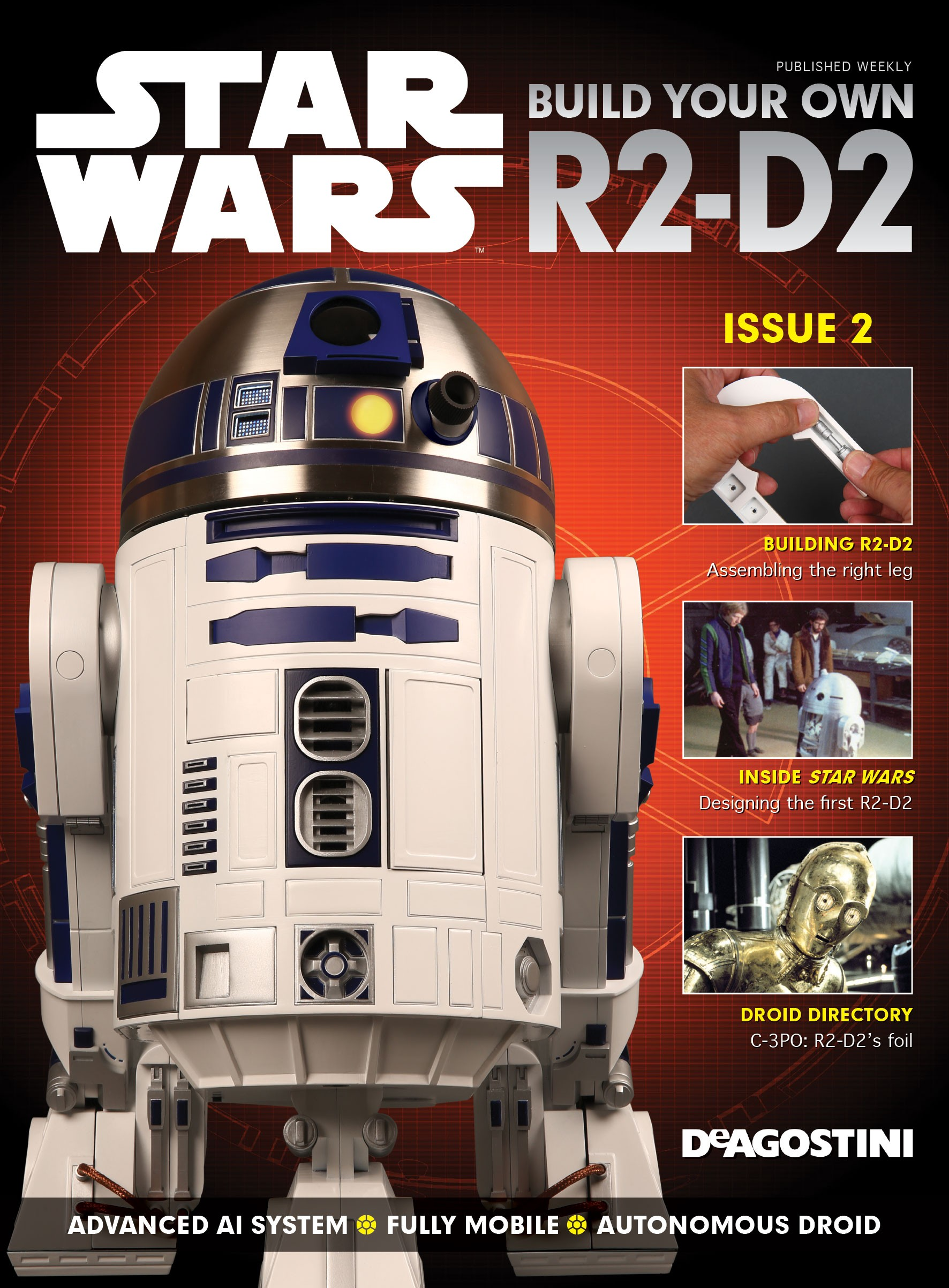 Build R2 D2 Star Wars 1:2 Scale Model | ModelSpace