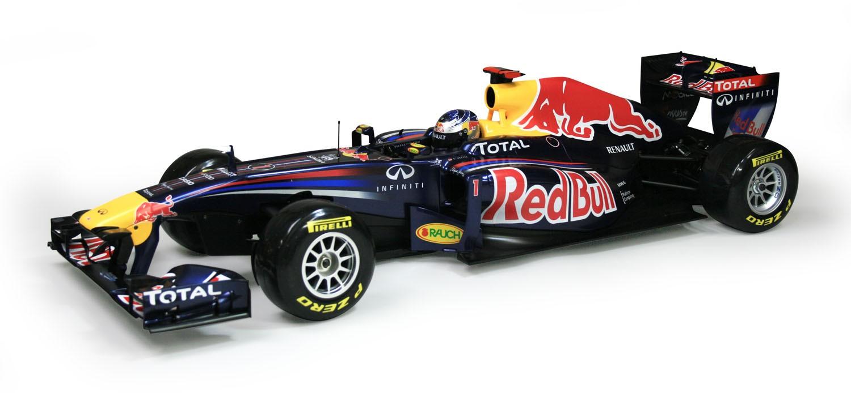 Red Bull Racing RB7 Model Race Car Full Kit   ModelSpace
