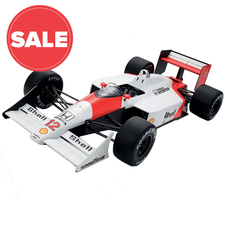 Senna McLaren MP4/4 | 1:8 Model Car | Full Kit | ModelSpace