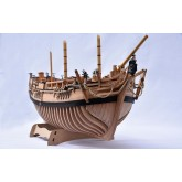 Build the HMS Bounty Admiralty Model Ship | 12 months