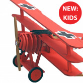 Red Baron Plane | Kids Model | Full Kit