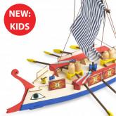 Roman Galley   Kids Model   Full Kit