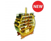 HMS Victory Cross-Section | 1:72 Model | Full Kit