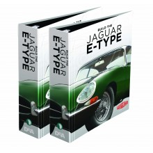Jaguar E-type   1:8 Model   Binders Set
