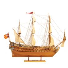 San Felipe wooden model