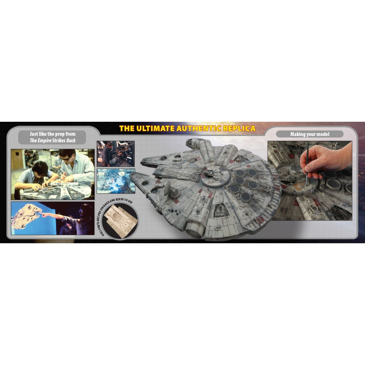 Build Star Wars Millennium Falcon Model Modelspace The Ultimate Monthly Circuit Building Kit