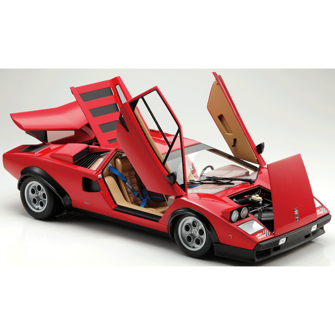 Build The Lamborghini Countach Lp500s 1 8 Car Scale Model Full